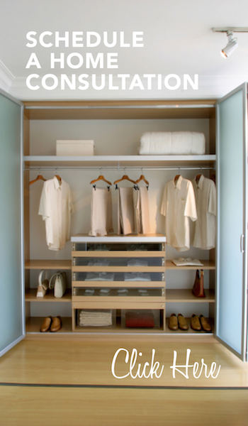 in-home consultation - closet organizer boston ma
